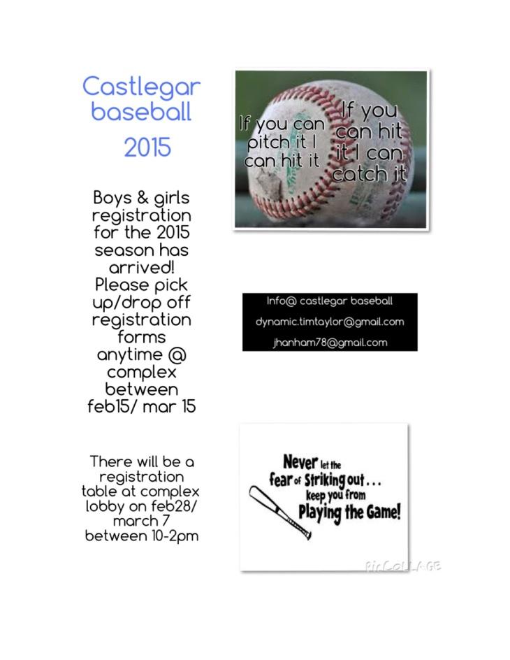 Castlegar Baseball